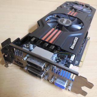 ASUS GTX650TI-DC2O-1GD5 DirectCU II OC GTX 650 Ti GDDR5 1GB VGA 2xDVI HDMI* g365