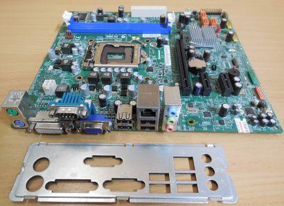 Lenovo M71e 03T6014 IH61M Ver1.0 MS-7687 Mainboard +Blende Sockel 1155 DDR3*m865