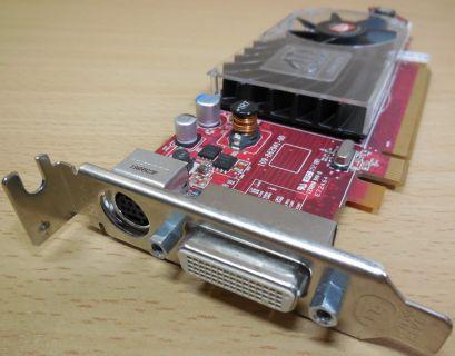 DELL 0X398D-13740 PN102B6291200 HD3450 256MB DMS59 VId PCIe SFF LowProfile* G369
