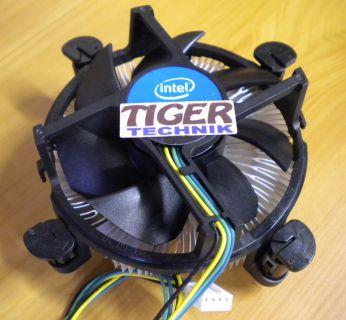 Intel E41769-002 Sockel 775 Prozessorkühler CPU Lüfter Aluminium Kupfer* ck318
