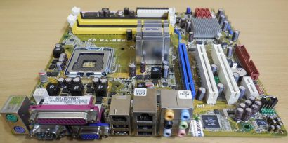 Asus P5E-VM DO Rev 1.02G Mainboard +Blende Sockel 775 Intel Q35 DDR2 PCIe* m867