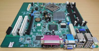 Dell Optiplex 760 MT Mainboard 0M858N Rev A01 Sockel 775 Intel Q43 PCIe VGA*m869