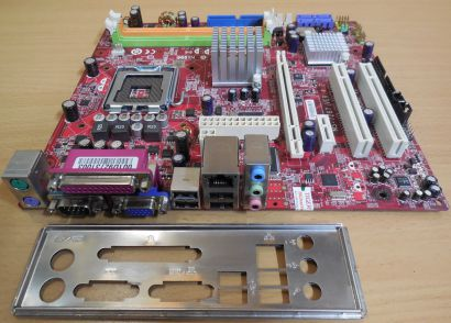 MSI MS-7267 Ver 4.2 945GCM5 V2 Mainboard +Blende Sockel 775 Intel Maxdata* m871
