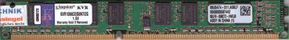 Kingston KVR1066D3S8N7 2G PC3-8500 2GB DDR3 1066MHz 99U5474-011 A00LF RAM* r629