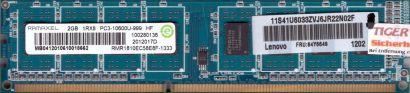 Ramaxel RMR1810EC58E8F-1333 PC3-10600U 2GB DDR3 1333MHz CL9 Arbeitsspeicher*r632