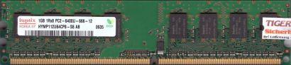 Hynix HYMP112U64CP8-S6 AB PC2-6400 CL6 1GB DDR2 800MHz Arbeitsspeicher RAM* r633
