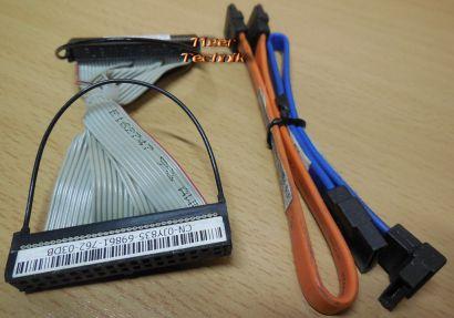 DELL Optiplex SFF Vostro Slim DCSLF Kabelset 0U5959 0MD713 Floppy 0JY835* pz497