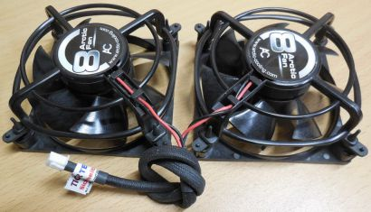 Arctic Cooling Arctic Fan 8 2x 80mm 2-pol Lüfter PC Computer* GL96
