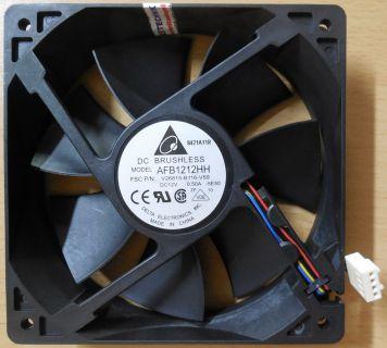 Delta AFB1212HH FSC Fujitsu FTS PN V26815-B116-V59 CPU-Gehäuse Lüfter120mm* GL97