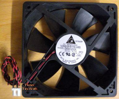 Delta DSB1212L FSC Fujitsu PN V26815-B116-V65 CPU-Gehäuse Lüfter120mm* GL98