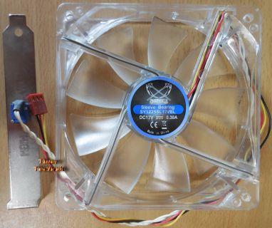 SCYTHE Sleeve Bearing SY1225SL mit Steurung CPU-Gehäuse Lüfter 120mm* GL100