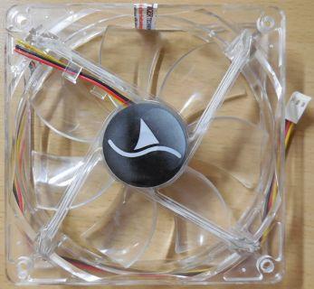 Sharkoon FAN Gehäuselüfter Kühler Lüfter 120mm 12V Cooling 2LEDs Computer* GL103