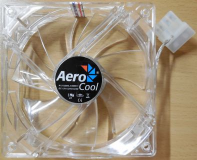 Aero Cool A121225SL CPU-Gehäuse Lüfter DC 12V 120mm Computer* GL104