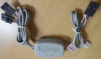 CD Audio Adder Audio Adapter 2x CD DVD ROM an Soundkarte oder Mainboard* pz503
