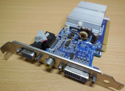 Gigabyte GV-NX84S256HE Geforce 8400GS 256MB DDR2 VGA S-Video DVI PCI-E 2.0* g376