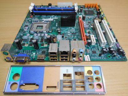 Acer Aspire M3800 Mainboard +Blende G45T G43T-AM3 V1.0 HDMI VGA DDR3 PCIe* m883