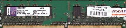 Kingston KVR667D2N5 1G PC2-5300 1GB DDR2 667MHz 9905315-132 A00LF RAM* r645