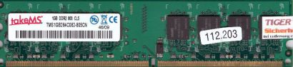 takeMS TMS1GB264C082-805CN PC2-6400 1GB DDR2 800MHz CL5 Arbeitsspeicher RAM*r648