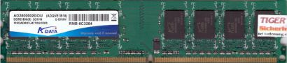 ADATA AD2800002GOU M2OAD8H3J4770Q1E63 ADVQE1B16 PC2-6400 2GB DDR2 800MHz* r650