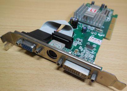 Sapphire ATI Radeon 9250 PN1024-RC26-1F-SA 128MB DDR AGP x8 DVI VIVO VGA* g381