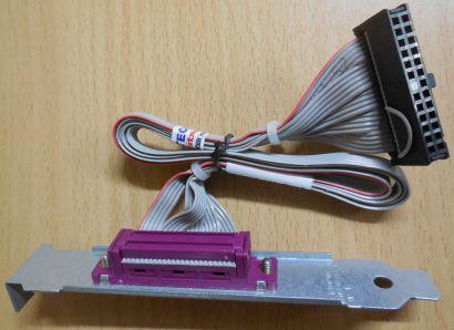 Slotblende Parallel Port Foxconn 462537-002 Rev.B Adapter PC Computer* pz513