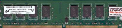 Micron MT16HTF25664AY-800J1 PC2-6400 2GB DDR2 800MHz Arbeitsspeicher RAM* r653