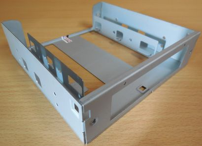 Einbaurahmen Adapter 3,5 HDD Floppy Kartenleser auf 5,25 Wechselrahmen* pz529