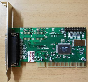 Parallel Controller Karte PCI FG-PIO9815-2P-01-IN21 NM9735 REV C* sk52