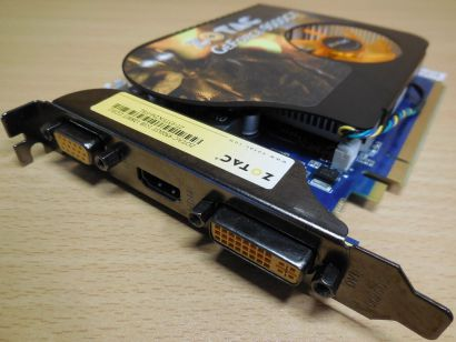 ZOTAC ZT-95TEK2M-FSL GeForce 9500GT DDR2 1GB 128 Bit PCI-E2.0 VGA HDMI DVI* g382