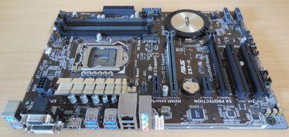 Asus Z97-K Rev 1.05 Mainboard in OVP Intel Z97 Sockel 1150 HDMI DDR3 USB3.0*m887