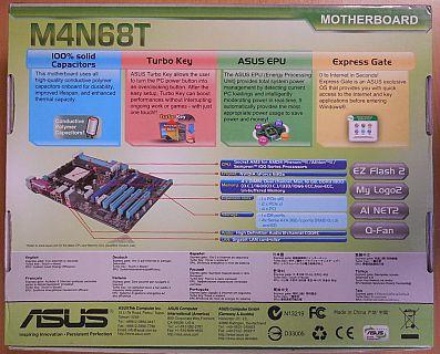 Asus M4N68T Rev 1.03G Mainboard NEU OVP Sockel AM3 PCIe DDR3 GbLAN SATA* m888