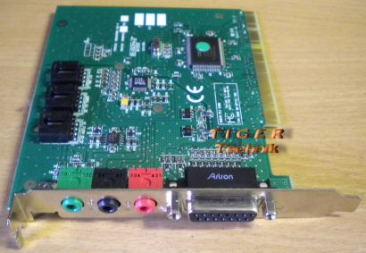 Creative Ensoniq Audio PCI 5200 Mic Line In Out Midi Gameport Soundkarte* s63
