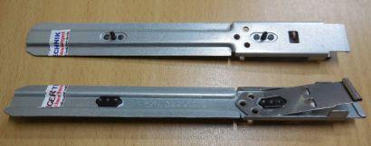 2 Stück PN 32295972 Schienen Laufwerkschienen Wechselrahmen 5,25 Zoll* pz531