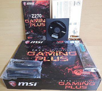 MSI Z270 Gaming Plus Mainboard NEU OVP Intel Sockel 1151 MS-7A75 Ver 1.0* m889