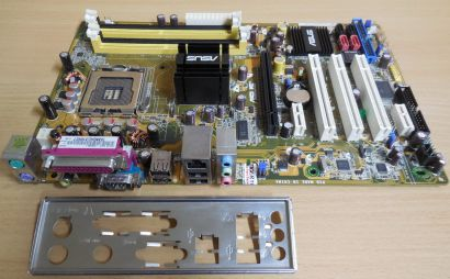 ASUS AiLife Series P5LD2 SE Rev 2.04G Mainboard +Blende Intel Sockel 775* m890