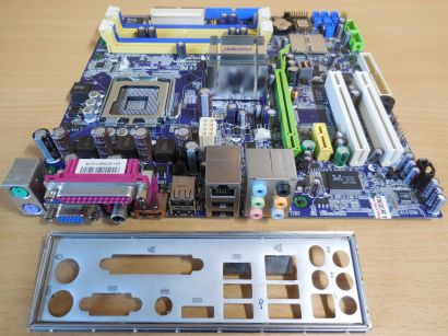 Foxconn 945G7MD 8KS2H Mainboard +Blende Sockel 775 Intel 945G DDR2 PCIe LAN*m895