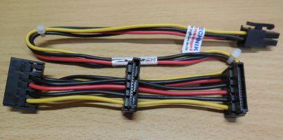 HP 625261 001 4-pin 3x SATA Power Kabel Stromkabel Elite 8000 8100 8200* pz539
