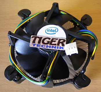 Intel E33681-001 Sockel 775 Prozessorkühler CPU Lüfter Aluminium NEU* ck322