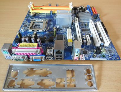 ASRock 4Core1600-GLAN M Rev1.02 Mainboard +Blende Intel G31 Sockel 775 DDR2*m899