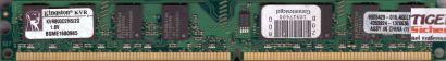 Kingston KVR800D2N5 2G PC2-6400 2GB DDR2 800MHz 9905429-016 A00LF RAM* r661