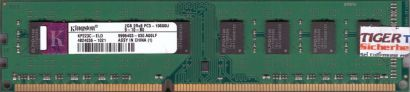 Kingston KP223C-ELD PC3-10600 2GB DDR3 1333MHz 9995403-030 A00LF RAM* r662
