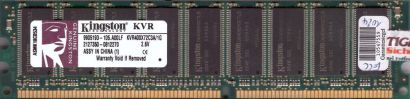 Kingston KVR400X72C3A 1G PC-3200 1GB DDR1 400MHz 9905193-105 A00LF ECC RAM* r663