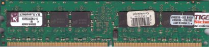 Kingston KVR533D2N4 1G PC2-4200 1GB DDR2 533MHz 9905230-002 B00LF RAM* r665