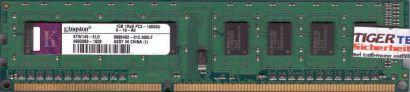 Kingston KTW149-ELD PC3-10600 1GB DDR3 1333MHz 9995402-012 A00LF RAM* r668