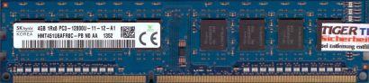 Hynix HMT451U6AFR8C-PB N0 AA PC3-12800 4GB DDR3 1600MHz Arbeitsspeicher RAM*r669