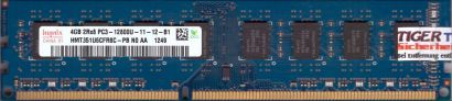 Hynix HMT351U6CFR8C-PB N0 AA PC3-12800 4GB DDR3 1600MHz Arbeitsspeicher RAM*r670