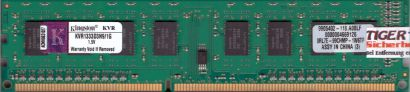 Kingston KVR1333D3N9 1G PC3-10600 1GB DDR3 1333MHz 9905402-118 A00LF RAM* r671