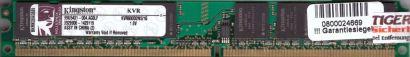 Kingston KVR800D2N5 1G PC2-6400 1GB DDR2 800MHz 99U5431-004 AG0LF RAM* r676
