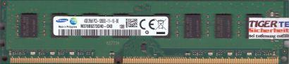 Samsung M378B5273CH0-CK0 PC3-12800 4GB DDR3 1600MHz Arbeitsspeicher RAM* r678