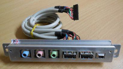 Shuttle XPC SN45G SS59G SS56G USB Audio mini FireWire Panel JM669*pz556